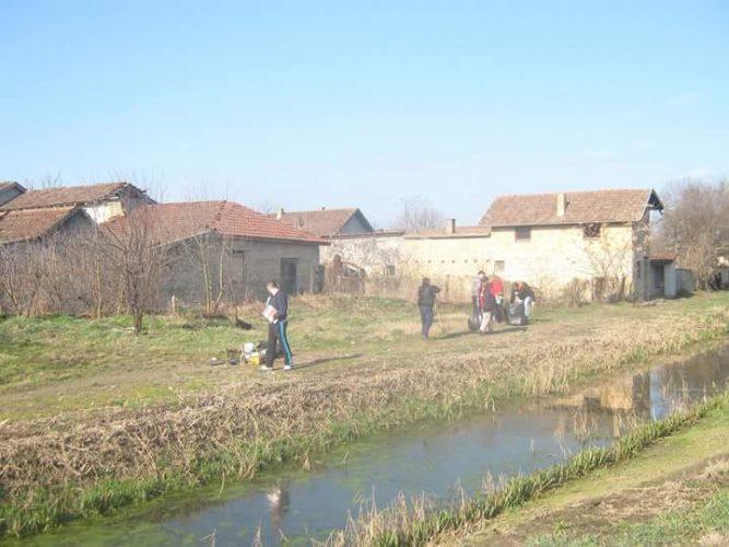 Uklanjanje divlje deponije i ozelenjavanje Jasibare (otvorena kanalizacija)