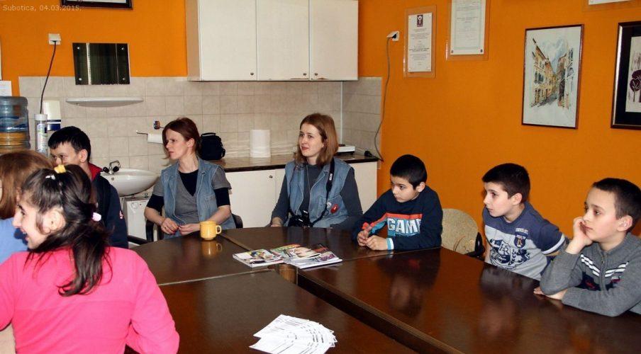 """Donacija đacima Školskog centra """"Dositej Obradović"""""""