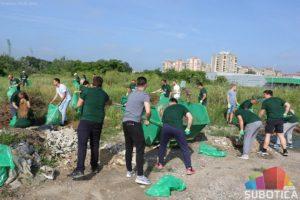 Održana akcija čišćenja divlje deponije na Prozivci