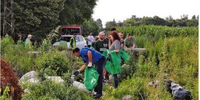 Očišćene divlje deponije u naseljima Prozivka, Palić i Ker
