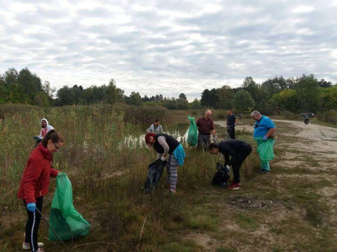 Aktivnost br.2, u okviru projekta ''Zaštitimo i očistimo Kelebijsku šumu''