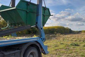 """Nastavak projekta """"Zaštitimo i očistimo Kelebijsku šumu! Svakodnevne aktivnosti, od pripreme terena do same realizacije-ubacivanja otpada u metalni kontejner i transportovanja do gradske deponije"""