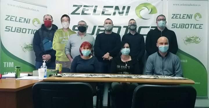 Sastanak Glavnog odbora Zelenih Subotice.